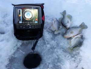 Ice Fishing on Lake Wisconsin