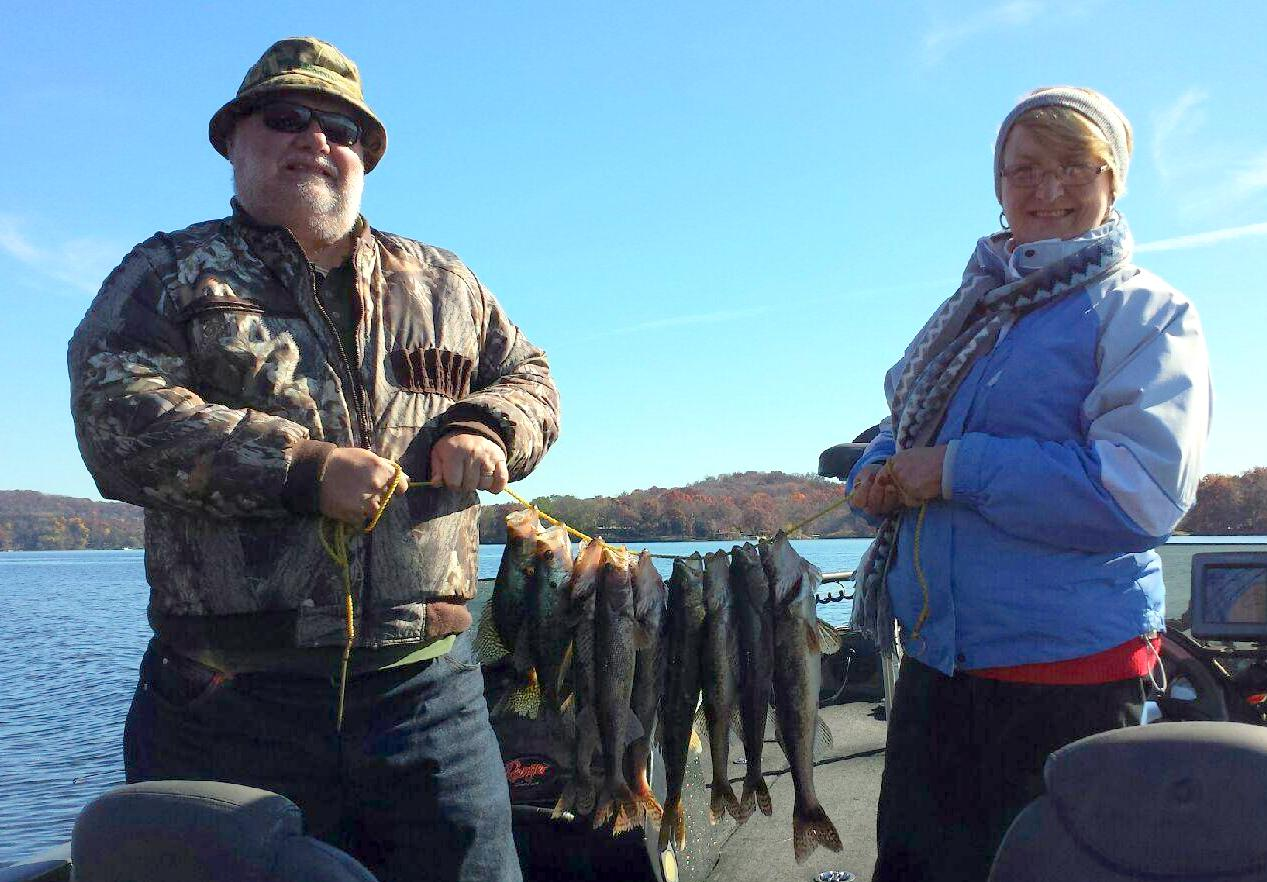 Lake wisconsin fishing report 11 4 14 lake wisconsin for West point lake fishing report